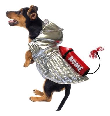 ACME Space Rocket Dog Costume
