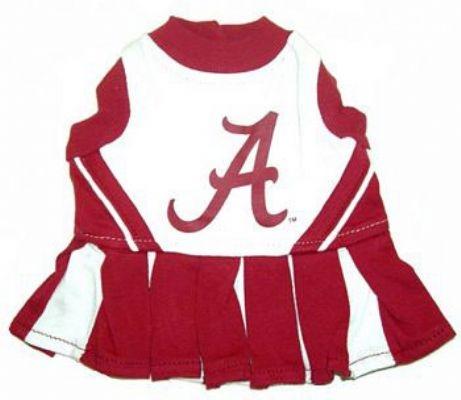 Alabama Crimson Dog Cheerleader Costume