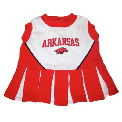 Arkansas Dog Cheerleader Costume