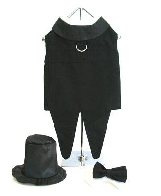 Black Dog Tuxedo Costume