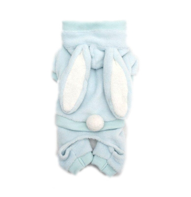 Blue Easter Bunny Dog Costume