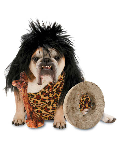 Caveman Dog Costume