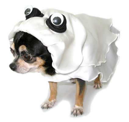 Boo Rific Ghost Dog Costume
