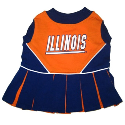 Illinois Dog Cheerleader Costume