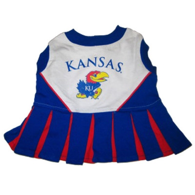 Kansas Jayhawks Dog Cheerleader Costume