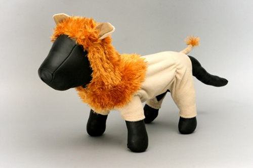 King Of the Jungle Dog Costume