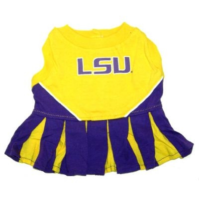 LSU Dog Cheerleader Costume