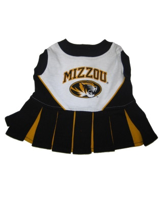 Missouri Tigers Dog Cheerleader Costume