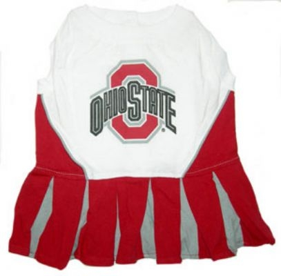 Ohio State Dog Cheerleader Costume