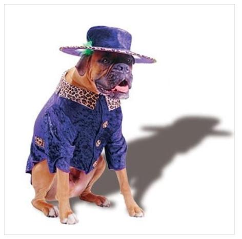 Pimp Doggie - Dog Halloween Costume