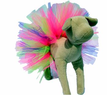 Over The Rainbow Dog Tutu
