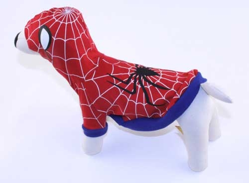 Spider Man Dog Hoodie Costume