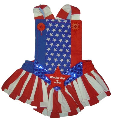 Wonder Woman Costume For Dogs