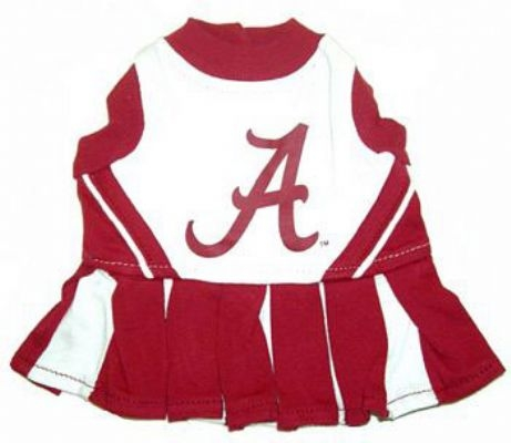 Alabama Crimson Dog Cheerleader Costume
