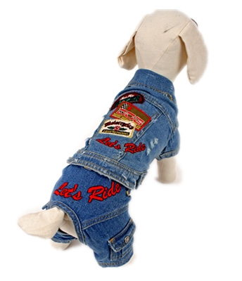 Biker Dude Dog Costume