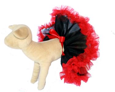 Scarlet Dog Tutu