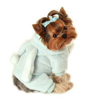 Blue Easter Bunny Dog Costume
