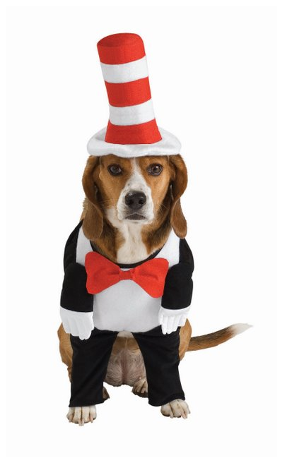 Dr. Seuss The Cat In The Hat Dog Costume