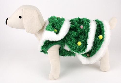 Christmas Tree Dog Costume