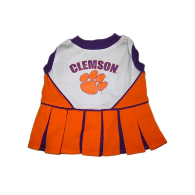 Clemson Tigers Dog Cheerleader Costume