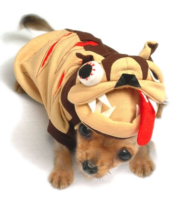 Crazy Al Dog Costume