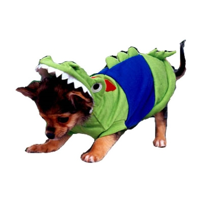 Crocodilly Crocodile Dog Costume