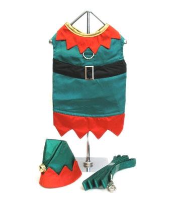 Elf Boy Dog Costume