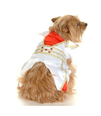 Las Vegas Elvis Dog Costume