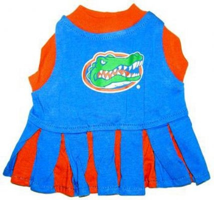 Florida Gators Cheerleader Dog Costume