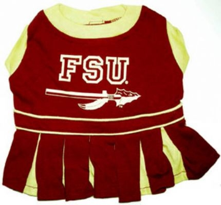 Florida State Seminoles Cheerleader Dog Costume