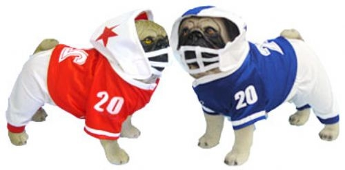 Football Uniform Dog Costumes