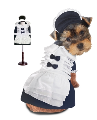 Maid Halloween Dog Costume