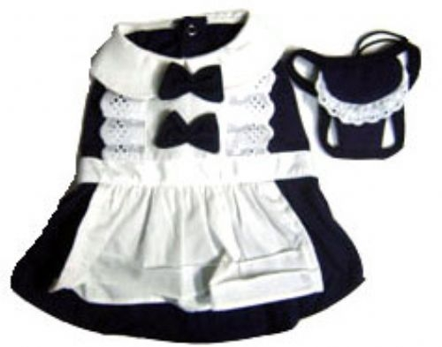 French Maid Dog Dress