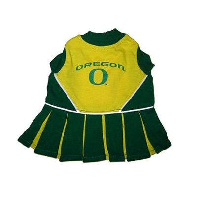 Oregon Dog Cheerleader Costume