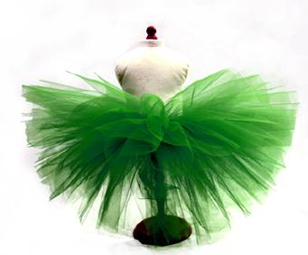 Lime On Time Dog Tutu