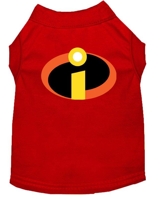 Incredibles Inspired Costume Shirt for Dogs