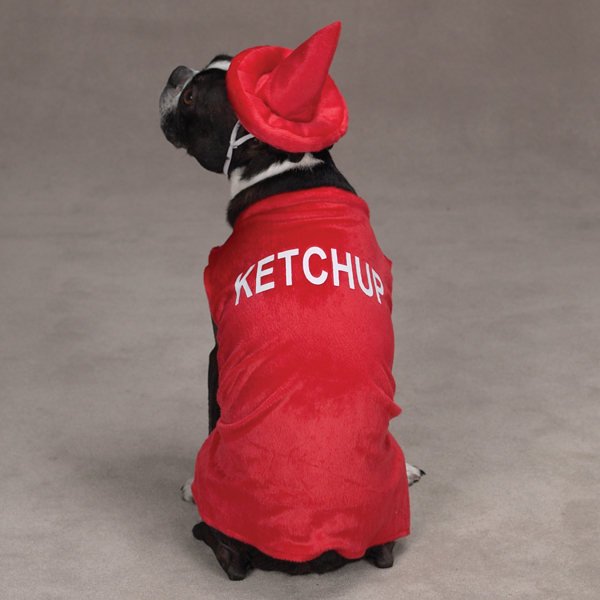 Ketchup Dog Costume