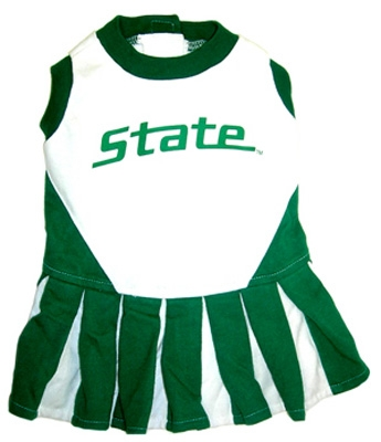 Michigan State Dog Cheerleader Costume