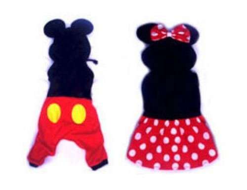 Minnie and Mickey Mouse Costumes for Dogs