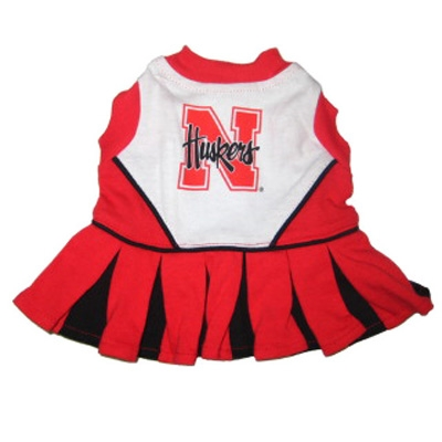 Nebraska Huskers Dog Cheerleader Costume