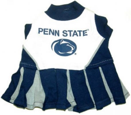 Penn State Nittany Lions Dog Cheerleader Costume