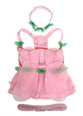 Pretty N Pink Fairy Dog Costume