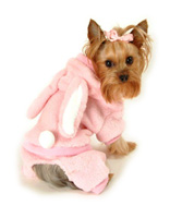 Pink Easter Bunny Dog Costume