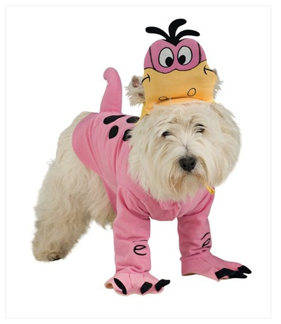 Pink Flintstones Dino Dog Halloween Costume