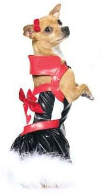 Sexy Queen Of Hearts Halloween Dog Costume