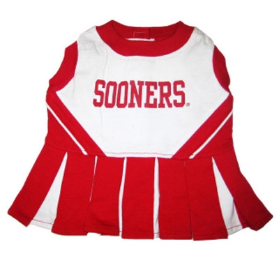 Oklahoma Sooners Dog Cheerleader Costume
