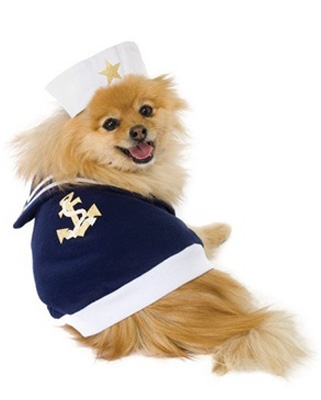 Sailor Bob Halloween Dog Costume