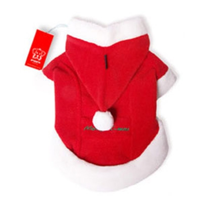 Santa Coat Christmas Dog Costume