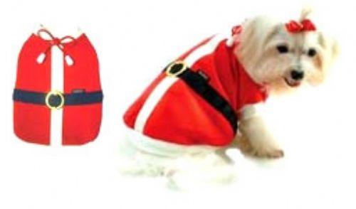Santa Dog Costume