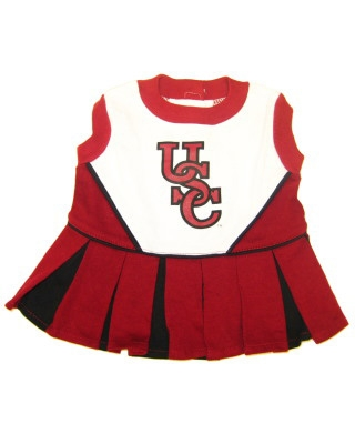 South Carolina USC Dog Cheerleader Costume